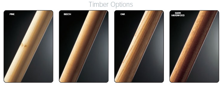 Fusion handrail timber options