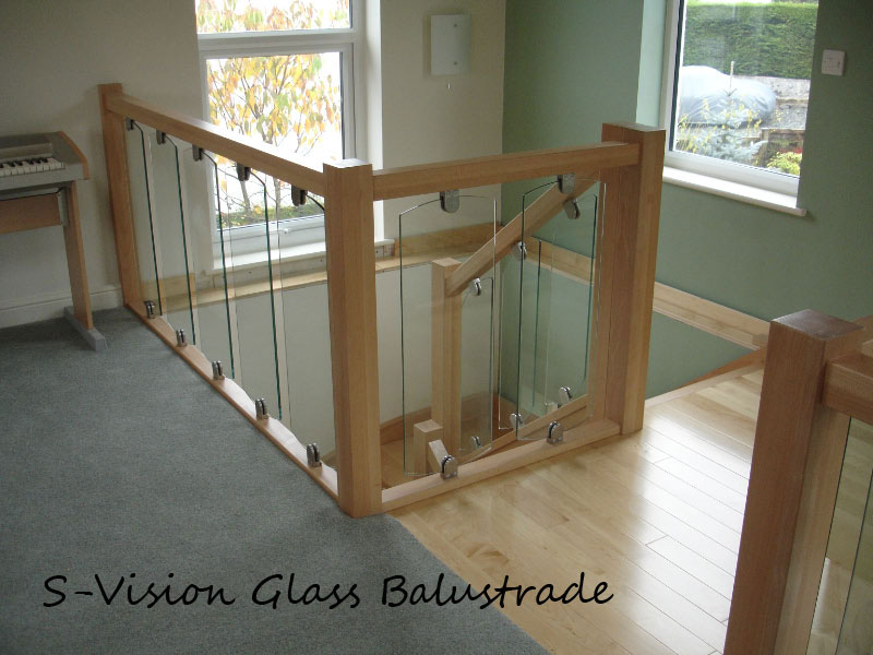 S-Vision the New Solution for Glass Balustrades