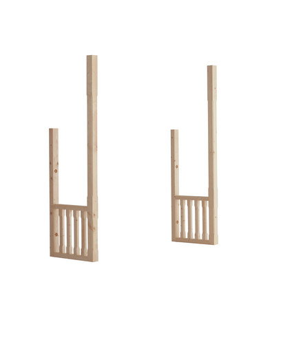 Dwarf wall kit for porches