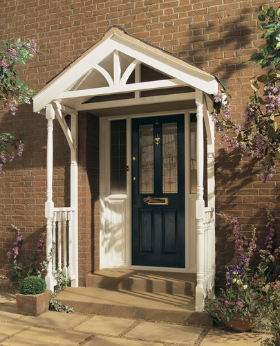 Entrace to your home porch canopy